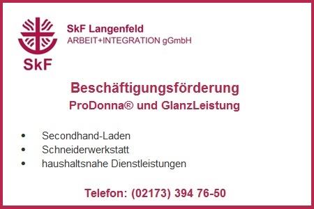 SkF Langenfeld - ProDonna und Glanzleistung