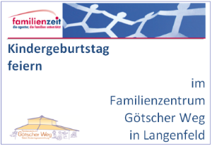 Familienzentrum Götscher Weg: Kinderparty
